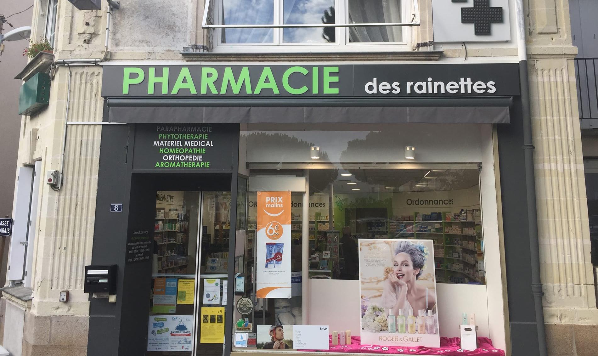 Bienvenue à la pharmacie des Rainettes